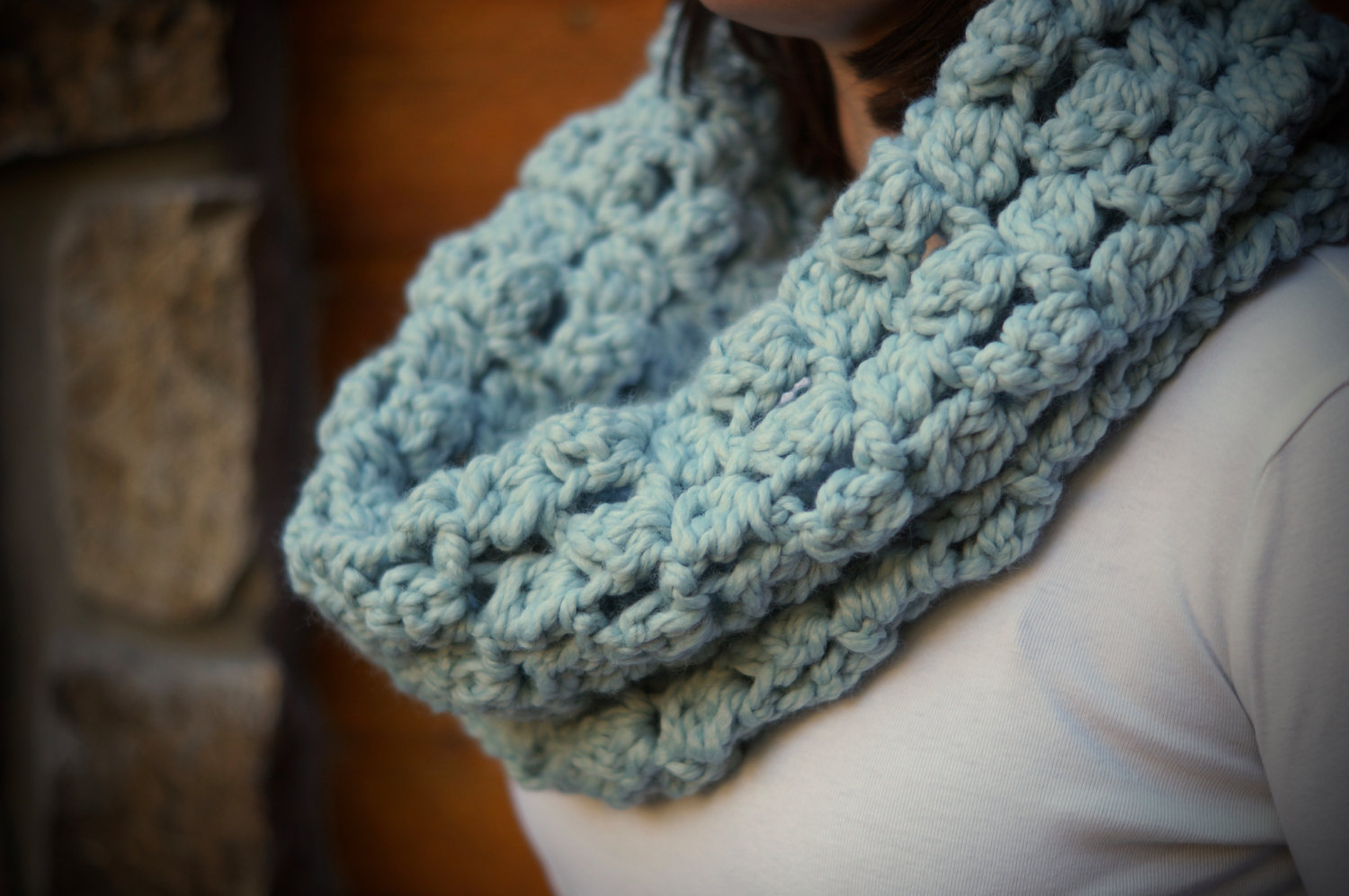 AspenWarm Winter Love Cowl Scarf