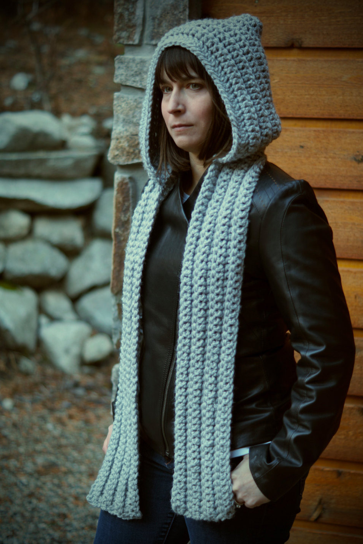 AspenWarm Classic Hooded Scarf